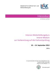 10. – 14. September 2012 - Landesärztekammer Thüringen