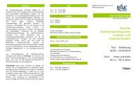 Programm Teil 2 - Landesärztekammer Thüringen