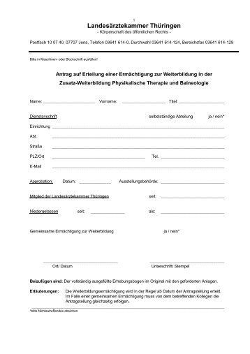 Physikalische Therapie und Balneologie.pdf - Landesärztekammer ...
