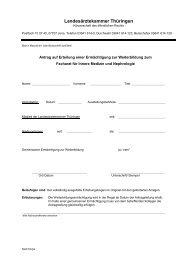 FA Innere Medizin und Nephrologie.pdf - Landesärztekammer ...