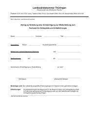 FA Orthopädie und Unfallchirurgie.pdf - Landesärztekammer ...