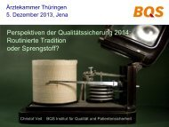 Quality Measurement in Healthcare : Experiences in Germany