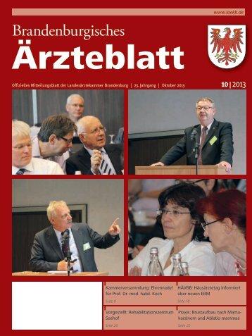 Brandenburgisches - Landesärztekammer Brandenburg