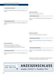 Hessisches Ärzteblatt November 2012 - Landesärztekammer Hessen