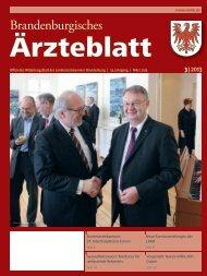 Ausgabe 03/2013 - Landesärztekammer Brandenburg