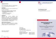 Patientenbegleitung und Koordination - Landesärztekammer Hessen