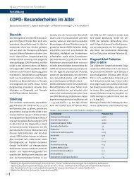 COPD: Besonderheiten im Alter