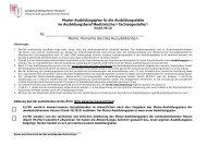 Musterausbildungsplan - Landesärztekammer Hessen