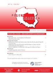 Polen und Litauen - Laender-Analysen