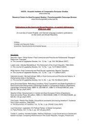 KICES - Koszalin Institute of Comparative European Studies