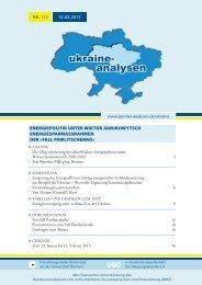 Ukraine-Analyse Nr. 112 - Länderanalysen der Forschungsstelle ...