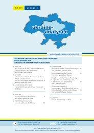 Ukraine-Analyse Nr. 119 - Laender-Analysen