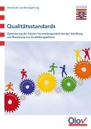 Qualitätsstandards des Landesprogramms Olov - Deutsches ...