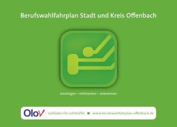 Berufswahlfahrplan Stadt und Kreis Offenbach - IHK Offenbach am ...