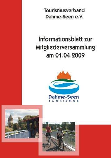 Auftrag - Tourismusverband Dahme-Seen eV