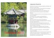 Teereisen 2013 Druck