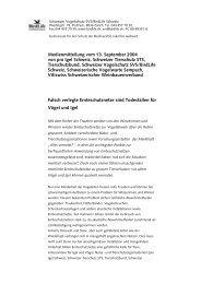 Ausdrucke von Webseiten zum Thema Vogelabwehr - Lärm.ch
