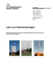 Lärm von Kleinwindanlagen - Lärm.ch