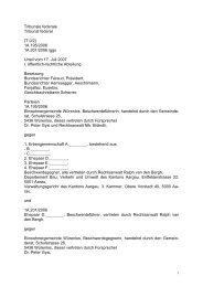 BGE 1A 195/2006 - Lärm.ch