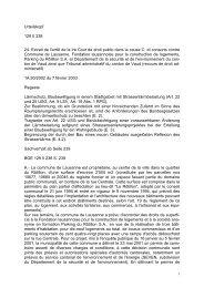 Urteilskopf 129 II 238 24. Extrait de l'arrêt de la Ire Cour de droit ...