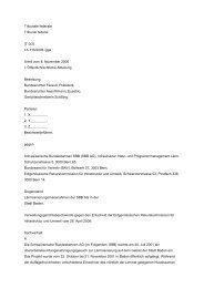 Tribunale federale Tribunal federal {T 0/2} 1A.116/2006 /ggs Urteil ...
