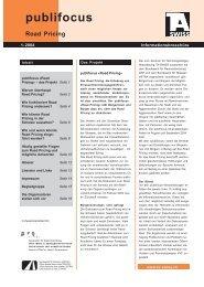 factsheet publifocus Road Pricing Teil 1_sh.pmd - TA-swiss