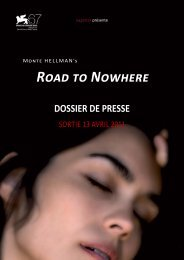 Road To Nowhere - dossier de presse - La Ferme du Buisson
