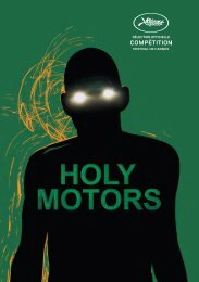 Holy Motors - Cannes International Film Festival