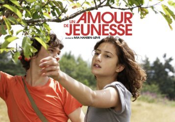 Un amour de jeunesse - Rhône-Alpes Cinéma