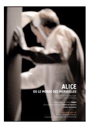 Alice ou le monde des merveilles - La Ferme du Buisson