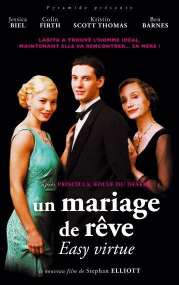 Un mariage de rêve - dossier descriptif - La Ferme du Buisson