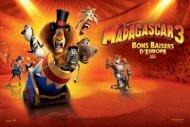 Madagascar 3 - La Ferme du Buisson
