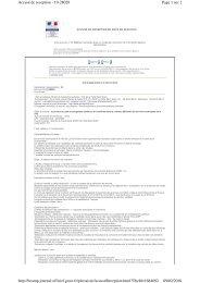 Page 1 sur 2 Accusé de reception - 10-28028 09/02/2010 http ...