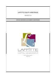 Télécharger le prospectus de Laffitte Equity Arbitrage