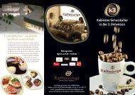 Kaffeejunge-Flyer - la fleur du chocolat