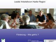 Leader - LAG Hadler Region