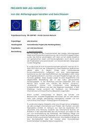 FIN-GER-NET – Finnish German Network - LAG Hunsrück