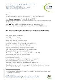 Bachmann Simone - Torn Lars - Vortrag Werkstättenmesse 15 03 13