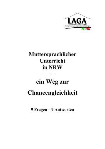 Muttersprachlichen Unterricht
