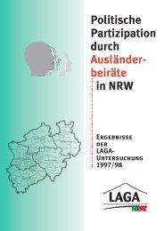 Politische Partizipation durch Ausländerbeiräte in NRW