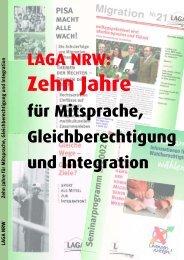 Zehn Jahre für Mitsprache, Gleichberechtigung und Integration