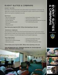 Cabanas & Event Suites - LA Galaxy