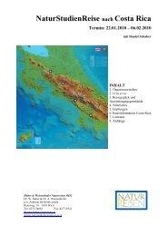 NaturStudienReise nach Costa Rica - Tropenstation | La Gamba