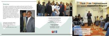 Black Male Empowerment Cooperative Program - LaGuardia ...