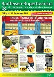 Aluleitern TAGES- ANGEBOTE - Raiffeisen-Lagerhäuser ...