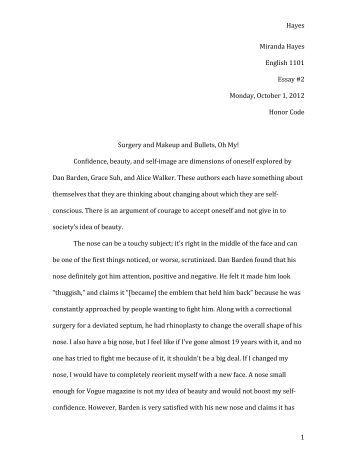 Read an essay