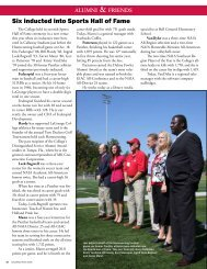 Six inducted into Sports Hall of Fame - LaGrange College
