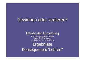 Langversion - LAG Wohnen für behinderte Menschen e.V.