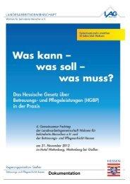 Grußwort - LAG Wohnen für behinderte Menschen e.V.