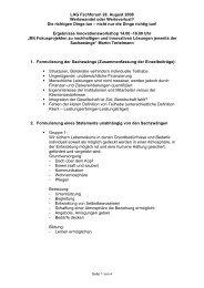 Dokumentation des Workshops als PDF-Datei - LAG Wohnen für ...